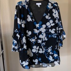 Brand new never worn Calvin Klein large blouse